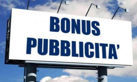 BONUS PUBBLICITÀ PER L'ANNO 2019: AL VIA LE DOMANDE