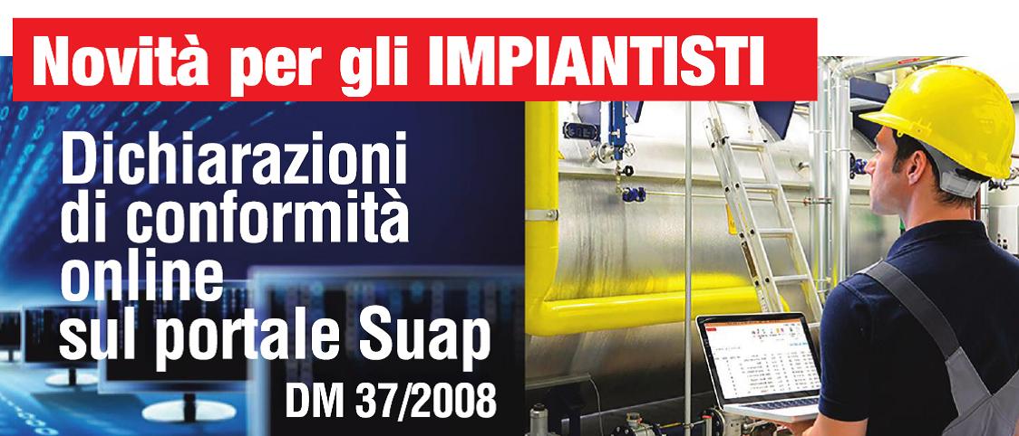 """""""DICHIARAZIONE DI CONFORMITA' ONLINE SUL PORTALE SUAP"""" – incontro giovedì 14/11"""