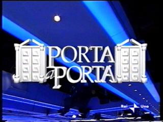 """Bortolussi a """"Porta a Porta"""""""