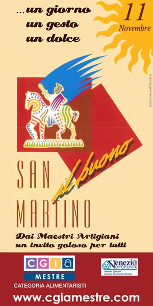 SAN MARTINO IL BUONO… un giorno, un gesto, un dolce – novembre 2013